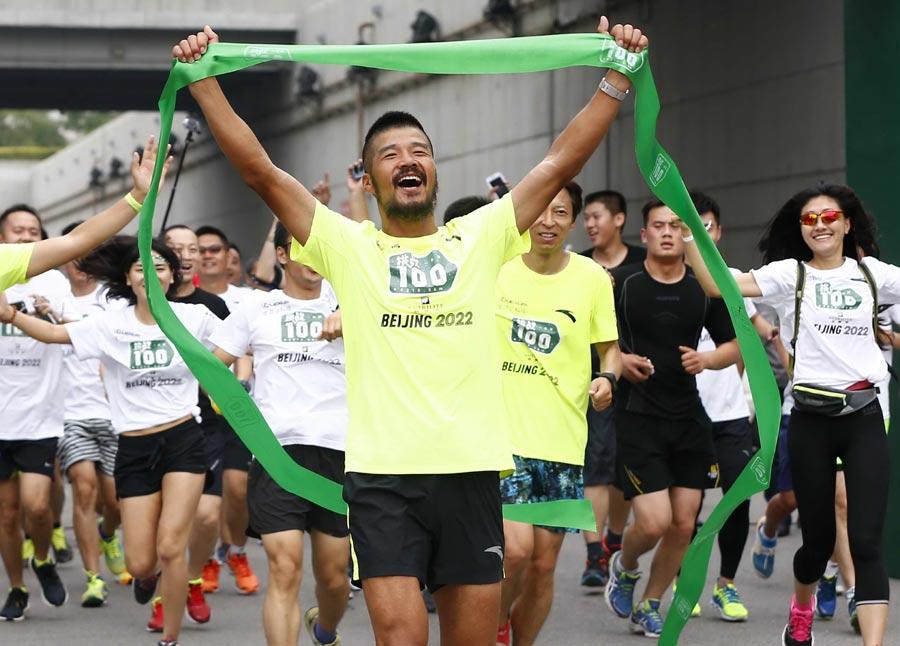100 marathons in 100 days