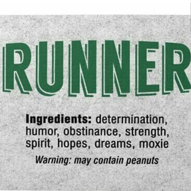 Sound familiar?  Your running thought of the day