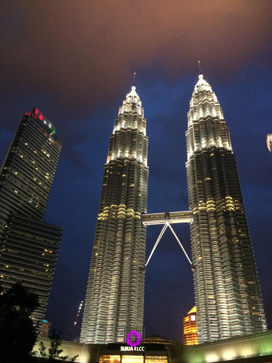 Where to run in Kuala Lumpur? KLCC Park, that's where