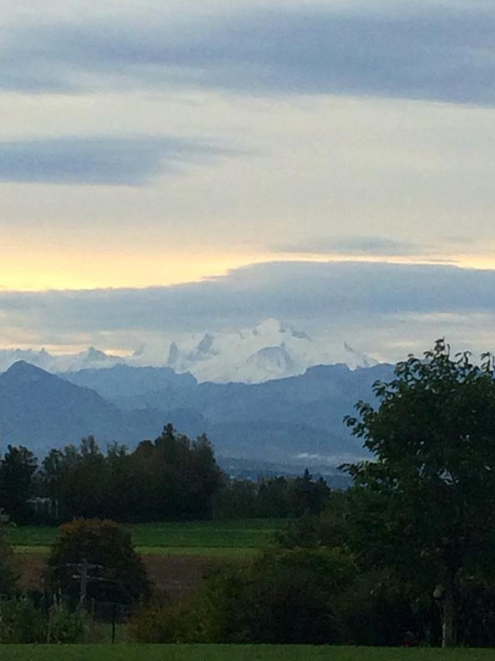 What did you see on your run today? #34 comes from the foot of Mont Blanc