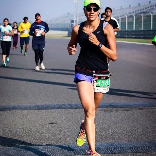 It's International Women's Day, so here's my running diva of the day