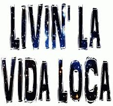 What's on your running playlist?  Livin' la vida loca