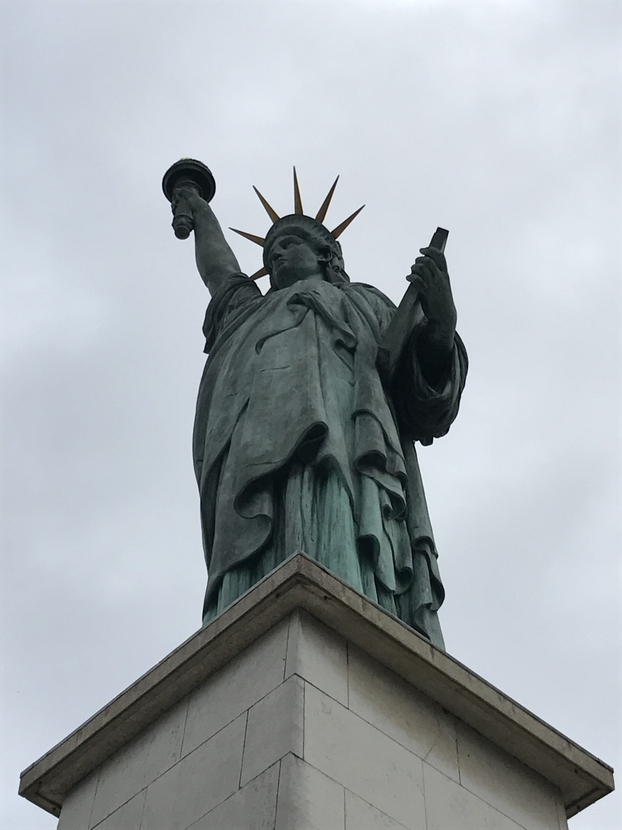 What did you see on your run today? #308 stars the Statue of Liberty