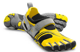 Running in Vibrams.  A runner's feedback