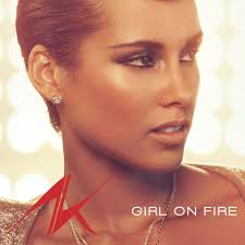 "What's on your running playlist?  ""GIRL ON FIRE"""