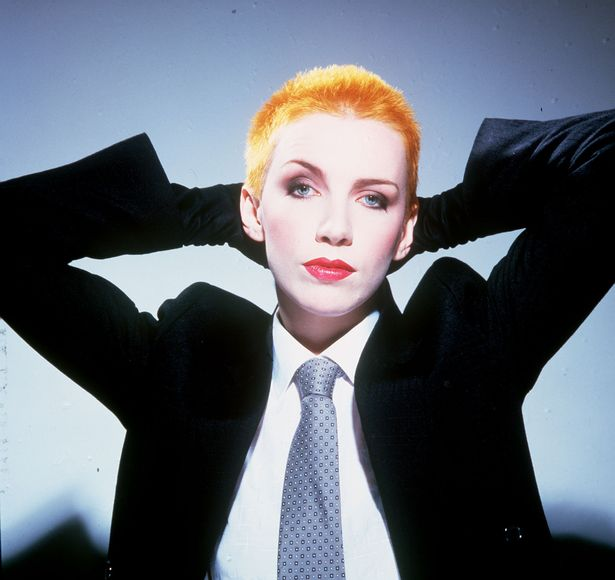 "What's on your running playlist? ""SWEET DREAMS"" by Eurythmics"