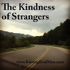 The kindness of running strangers