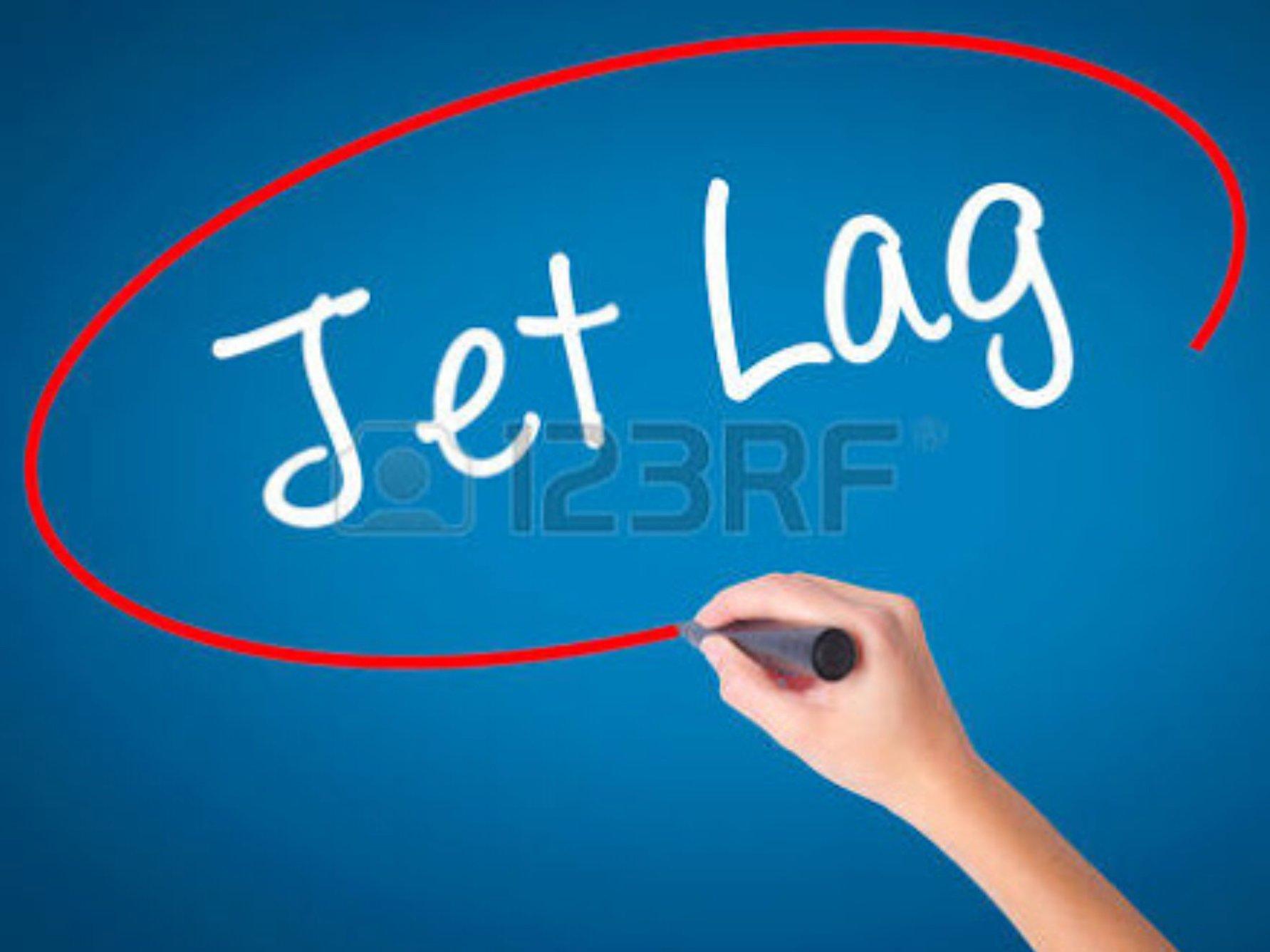 Does running help combat jet lag ?