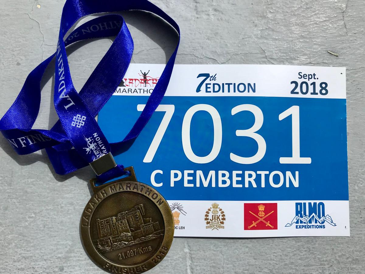Running in India's highest half marathon