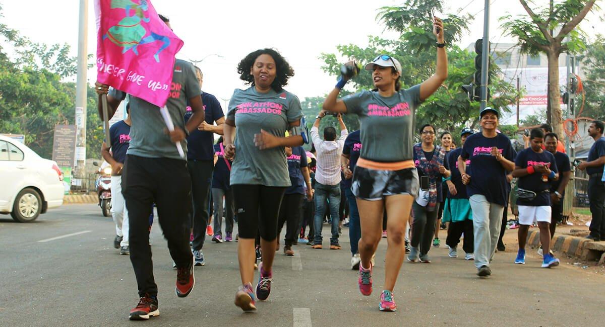 Women inspiring women to run