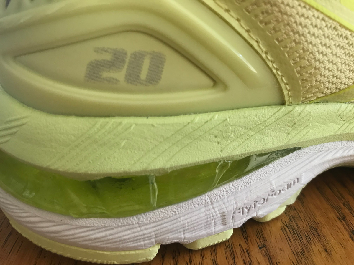 Follow up review of ASICS Gel Nimbus 20