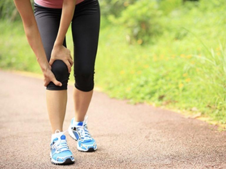 An injured runner moans – no, no – speaks