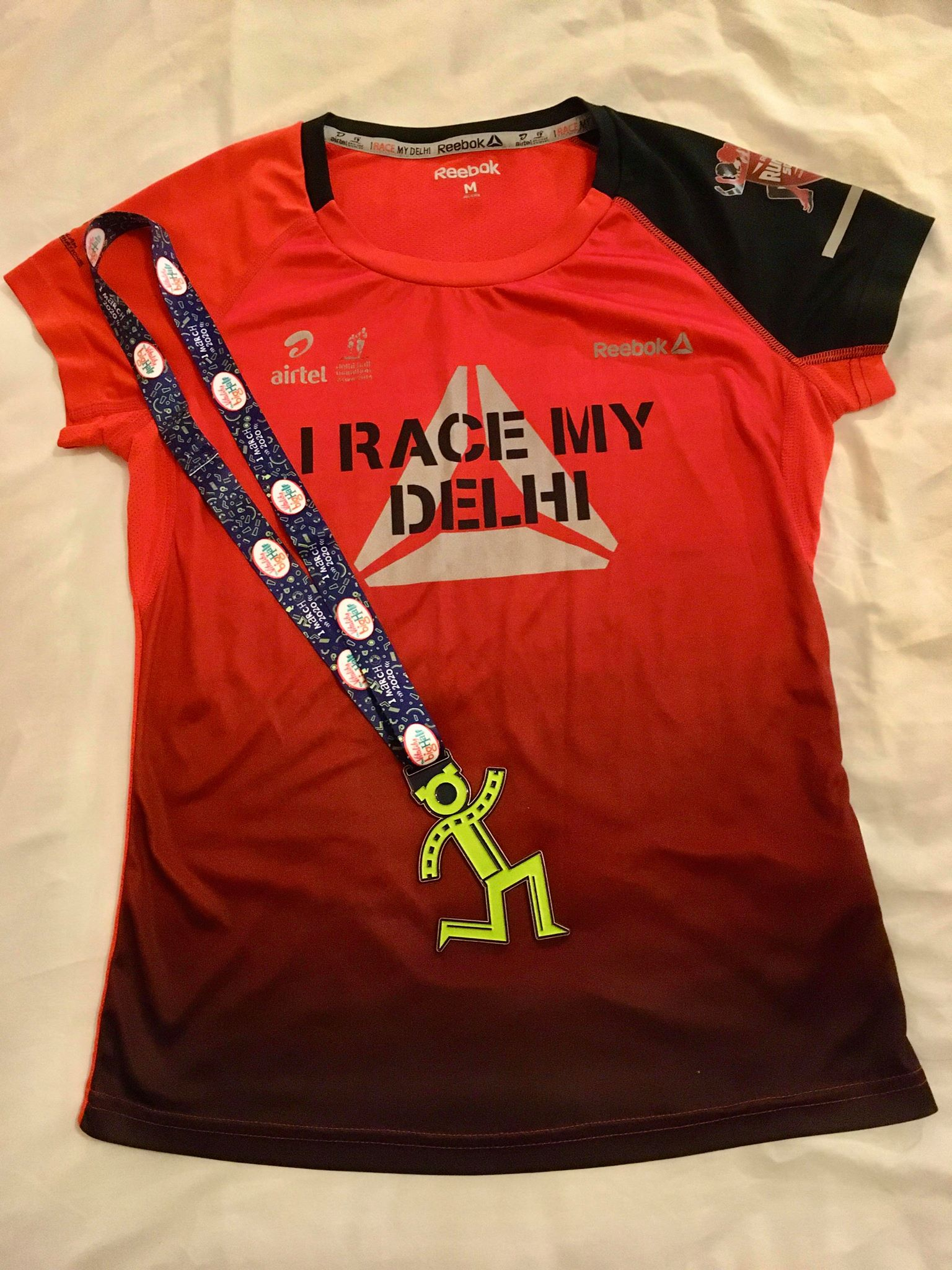 A half marathon PB!  And emotional tears for Delhi