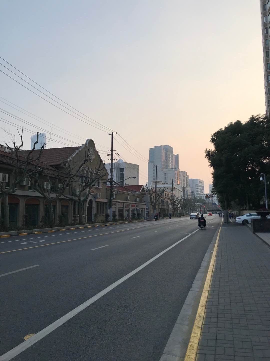What did you see on your run today? #393 comes from the deserted streets of Shanghai