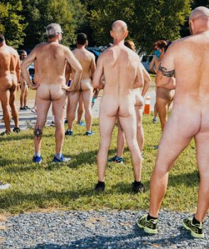 "Anyone for a ""clothing optional run""?"